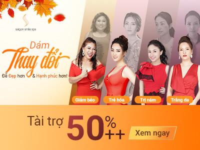 Tháng 9 thu sang - Ngập tràn ưu đãi tháng vàng làm đẹp tại Saigon Smile Spa
